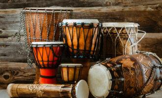 Variation,Of,Ethnic,Drums
