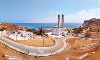 Dakar,,Senegal,,Africa,-,Mosque,Of,The,Divinity,(mosquã©e,De